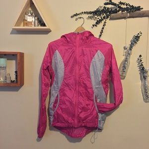 Eddie Bauer Sport Packable Windbreaker, Pink, S